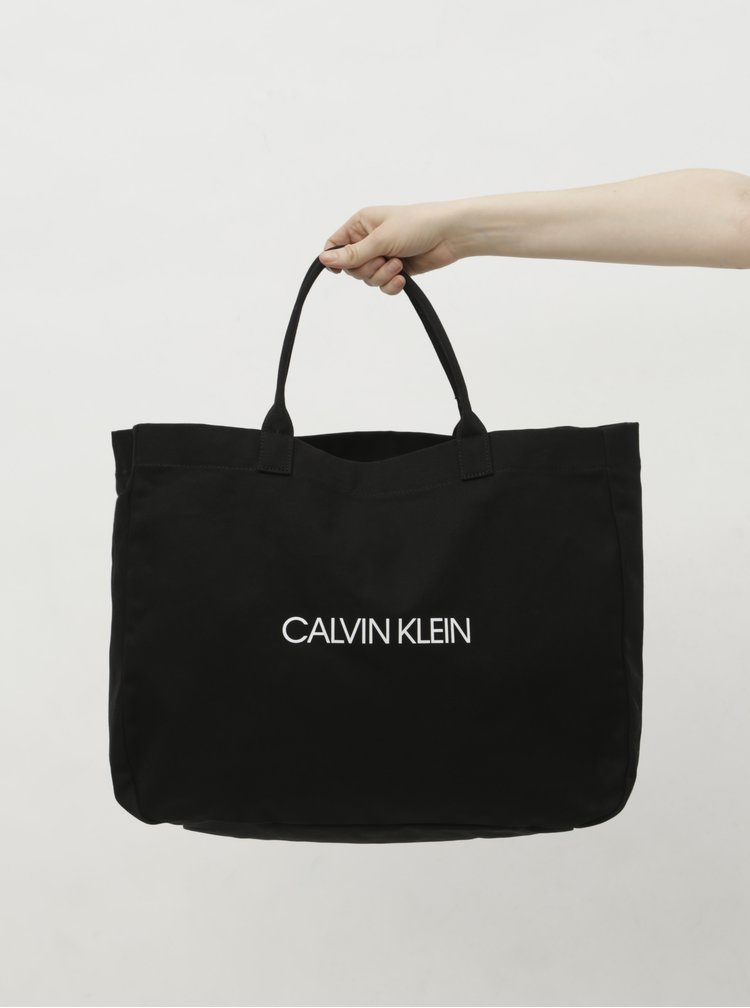 Černá plážová taška Calvin Klein Underwear