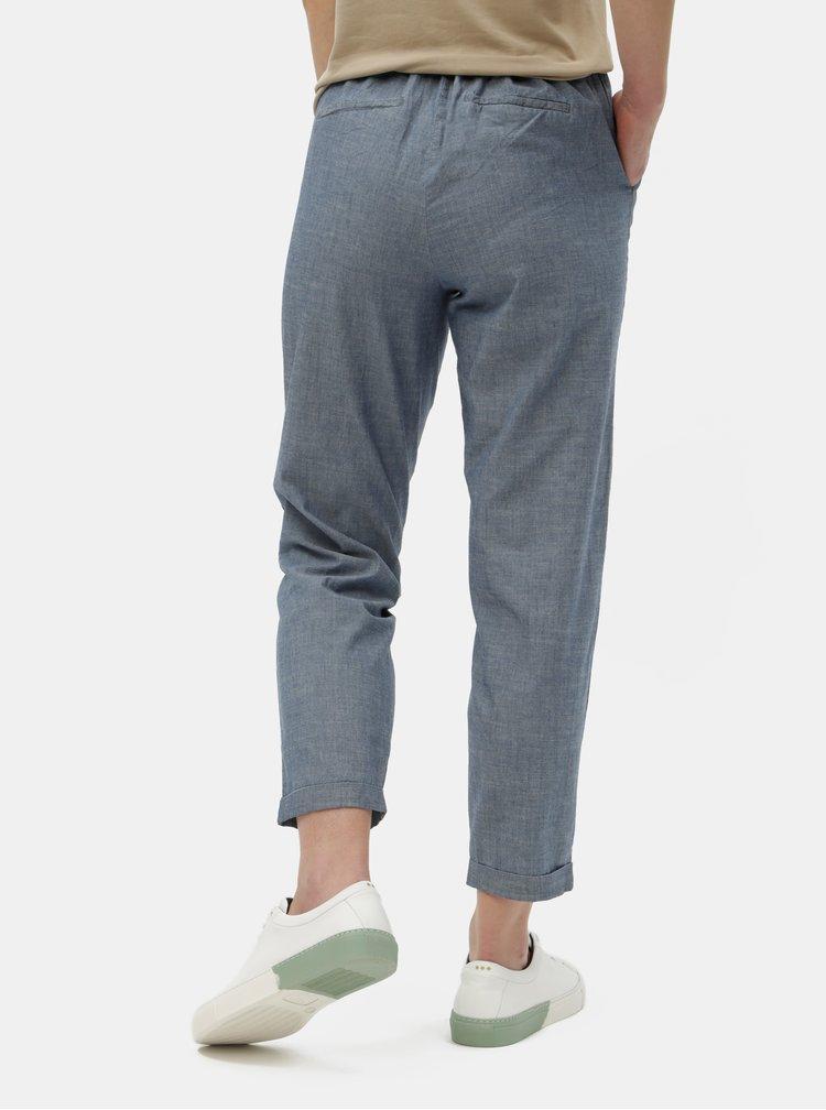 Modré kalhoty VERO MODA Maya