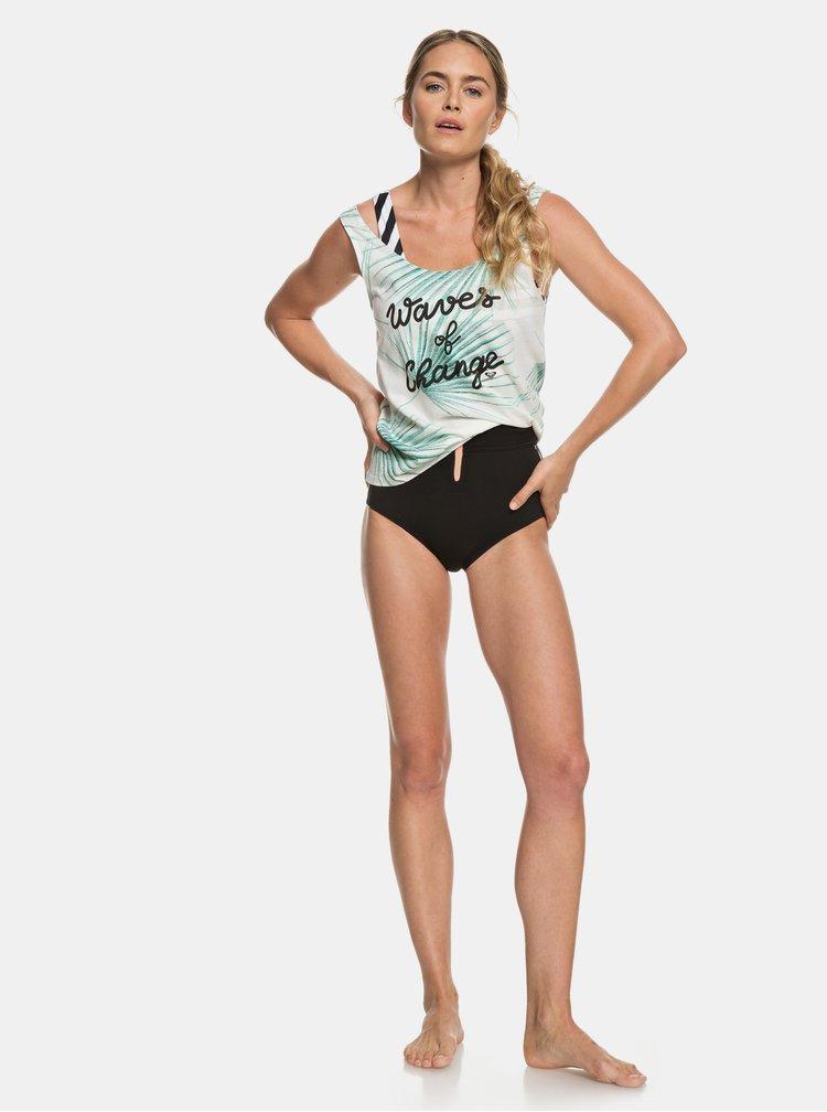 Maiou crem cu model tropical Roxy Pop Surf