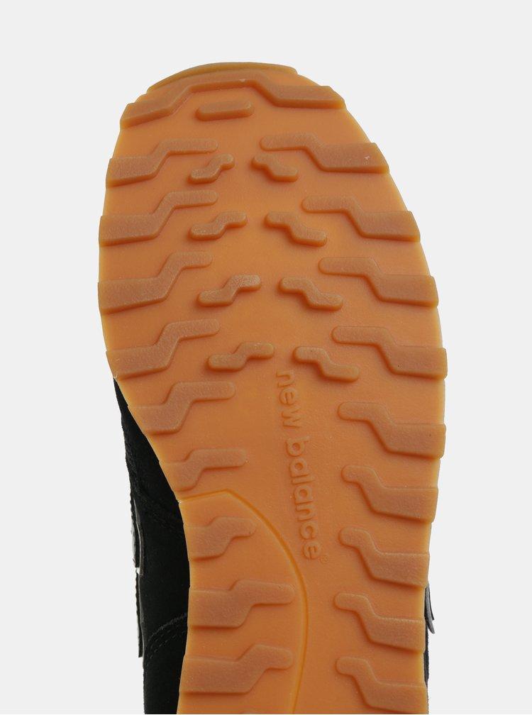 Pantofi sport negri de dama din piele intoarsa New Balance 373