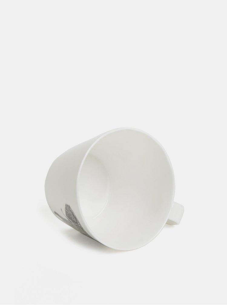 Bílý porcelánový hrnek s motivem slona Maxwell & Williams 450 ml