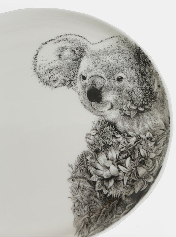 Farfurie din portelan cu motiv koala Maxwell & Williams