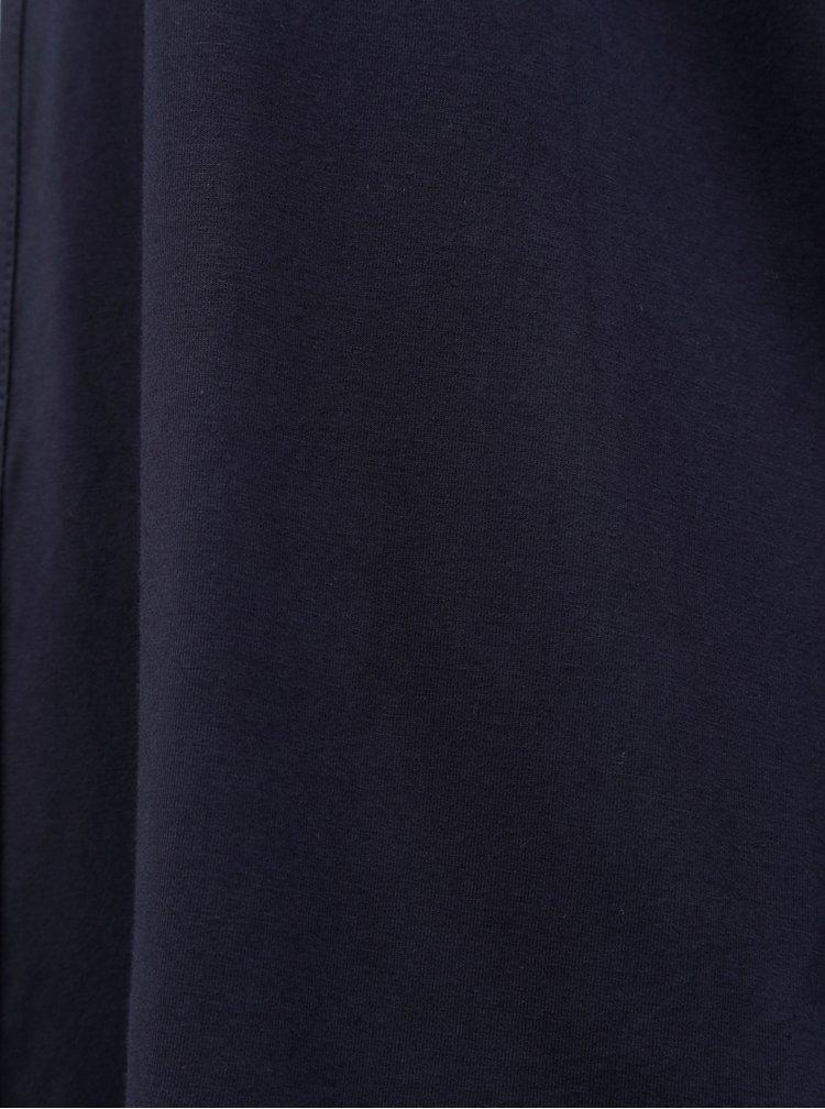 Cardigan albastru inchis cu dantela Zizzi Samantha