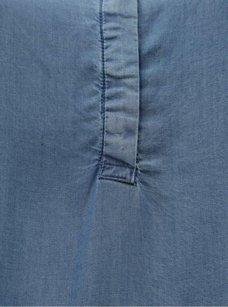 Rochie albastra din denim Zizzi Emily