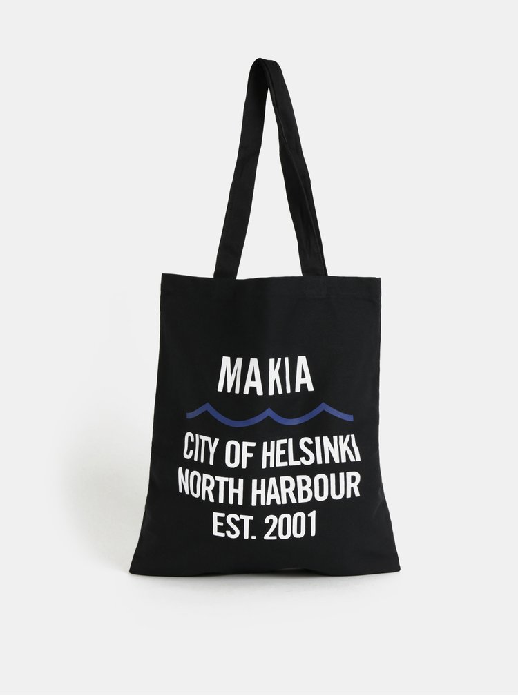 Černá plátěná taška Makia Civil