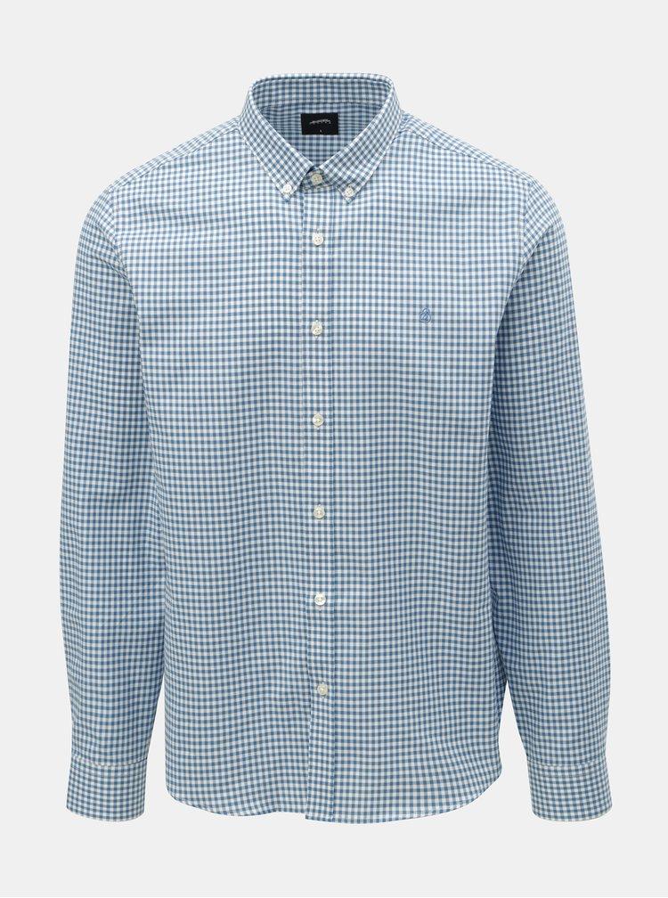Světle modrá kostkovaná košile Burton Menswear London