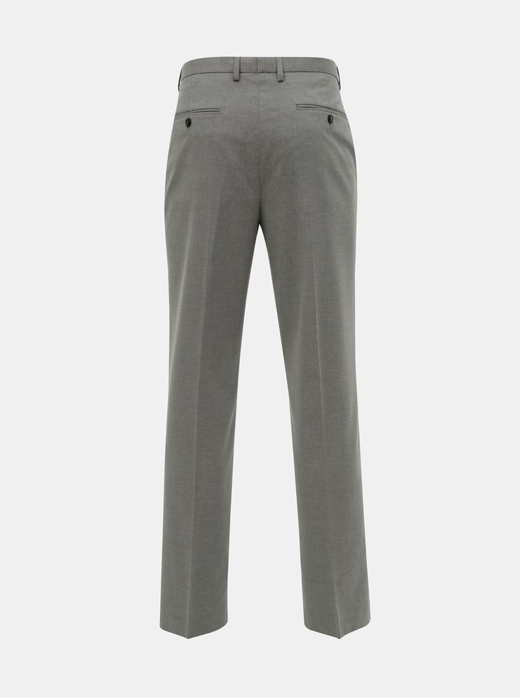 Pantaloni formali gri tailored fit Burton Menswear London