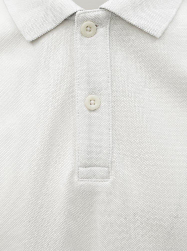 Biela pánska basic polokošeľa Tom Tailor