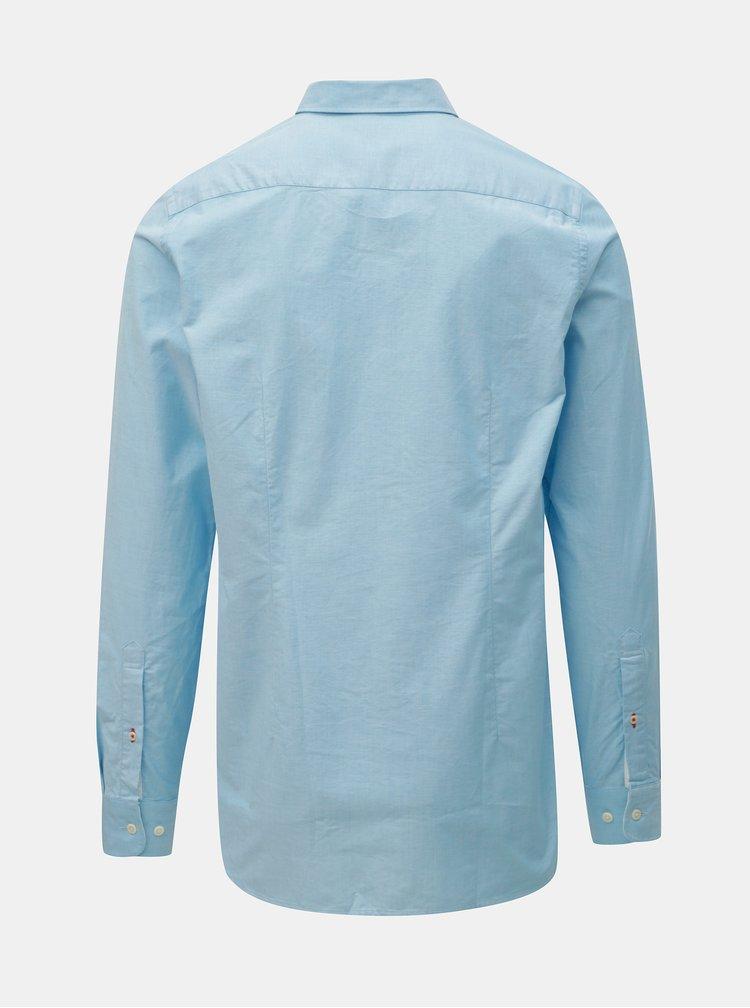 Svetlomodrá pánska slim fit košeľa Tommy Hilfiger