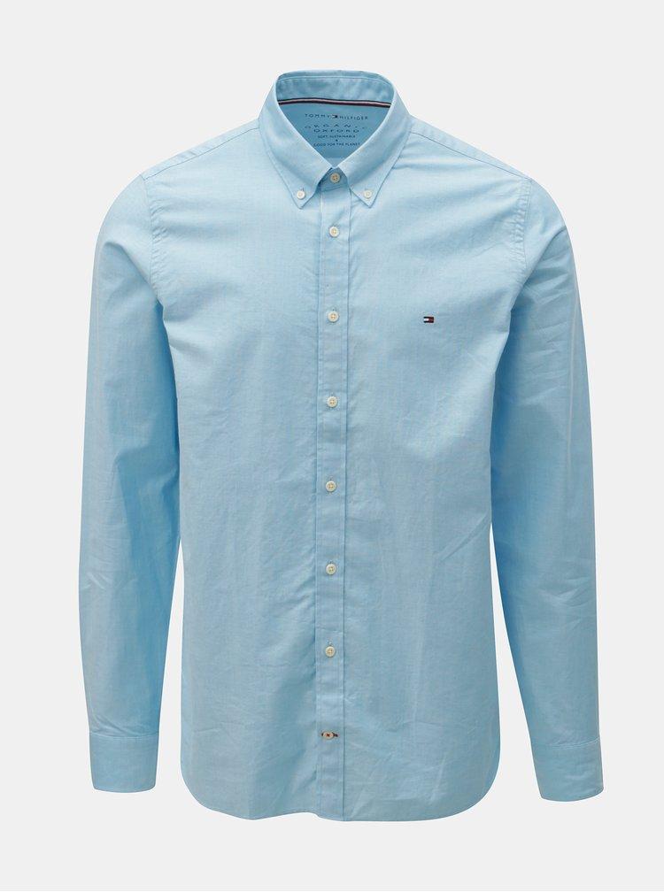 Světle modrá pánská slim fit košile Tommy Hilfiger