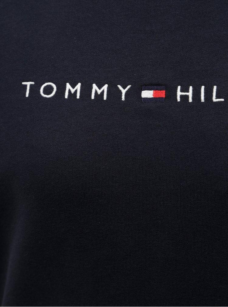 Tmavomodrá dámska mikina Tommy Hilfiger