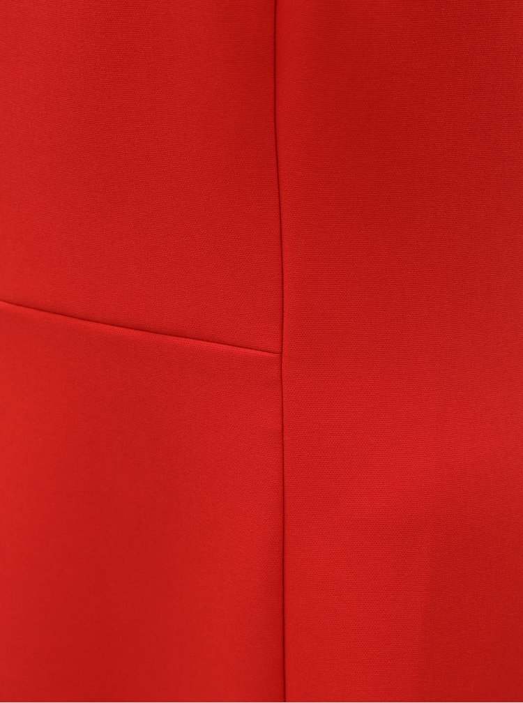 Červené midišaty Tommy Hilfiger Angela