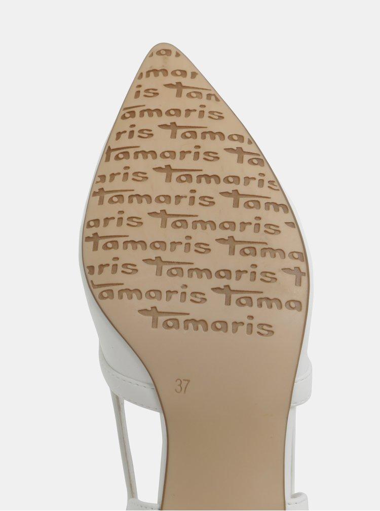 Bílé lodičky Tamaris