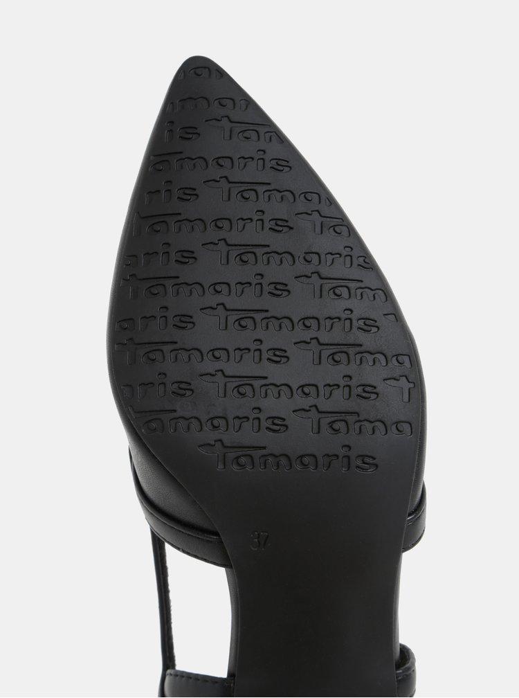 Čierne lodičky Tamaris