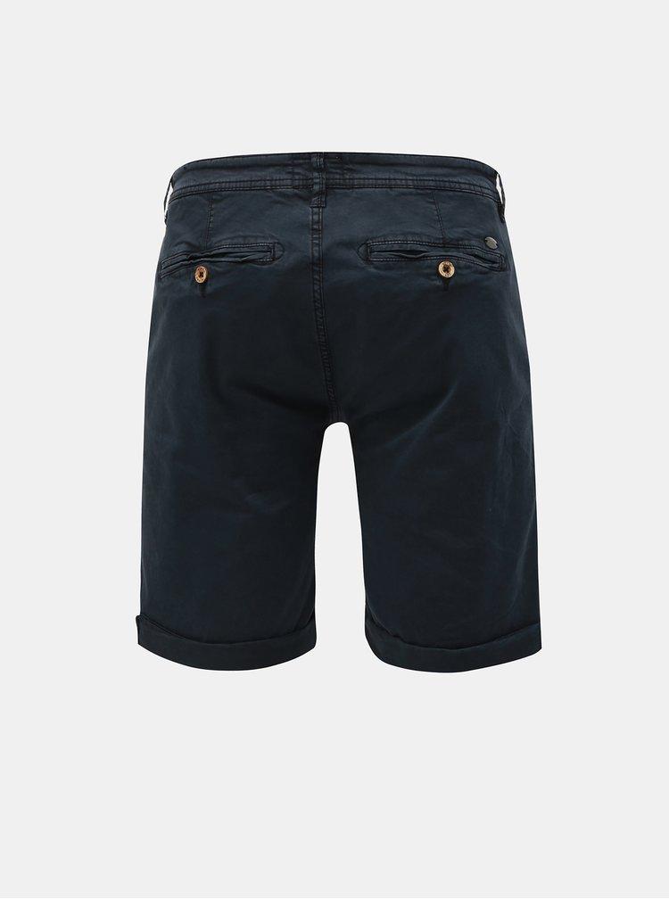 Pantaloni scurti albastru inchis chino Blend