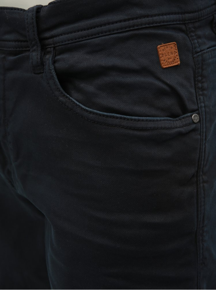 Pantaloni scurti negri slim fit Blend
