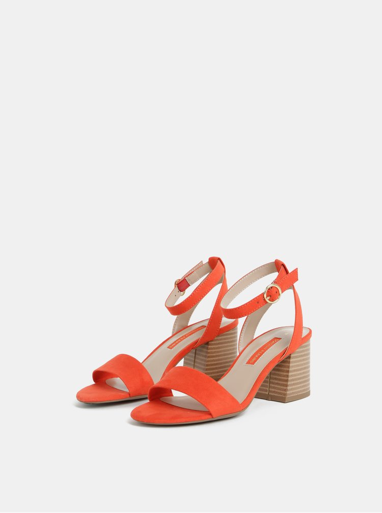 Červené sandálky Dorothy Perkins