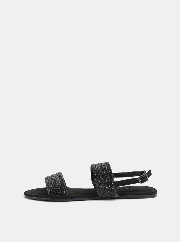 Sandale negre Dorothy Perkins