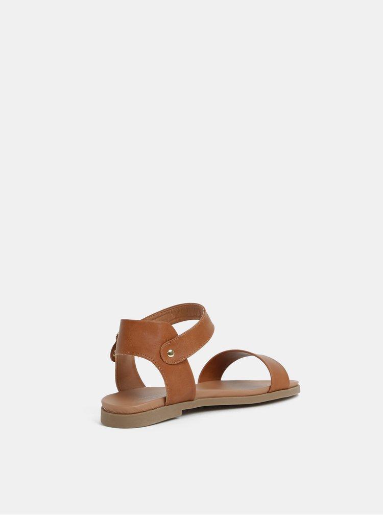 Hnědé sandály Dorothy Perkins