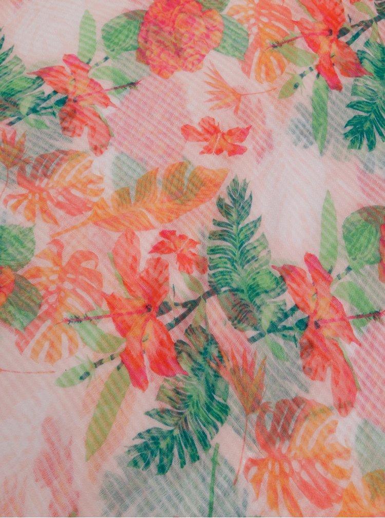 Ružová kvetovaná šatka Dorothy Perkins