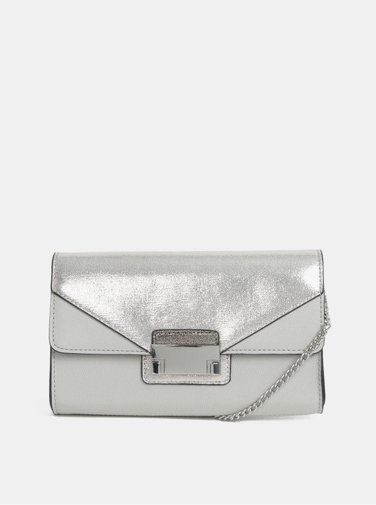 Kabelka ve stříbrno-šedé barvě Dorothy Perkins