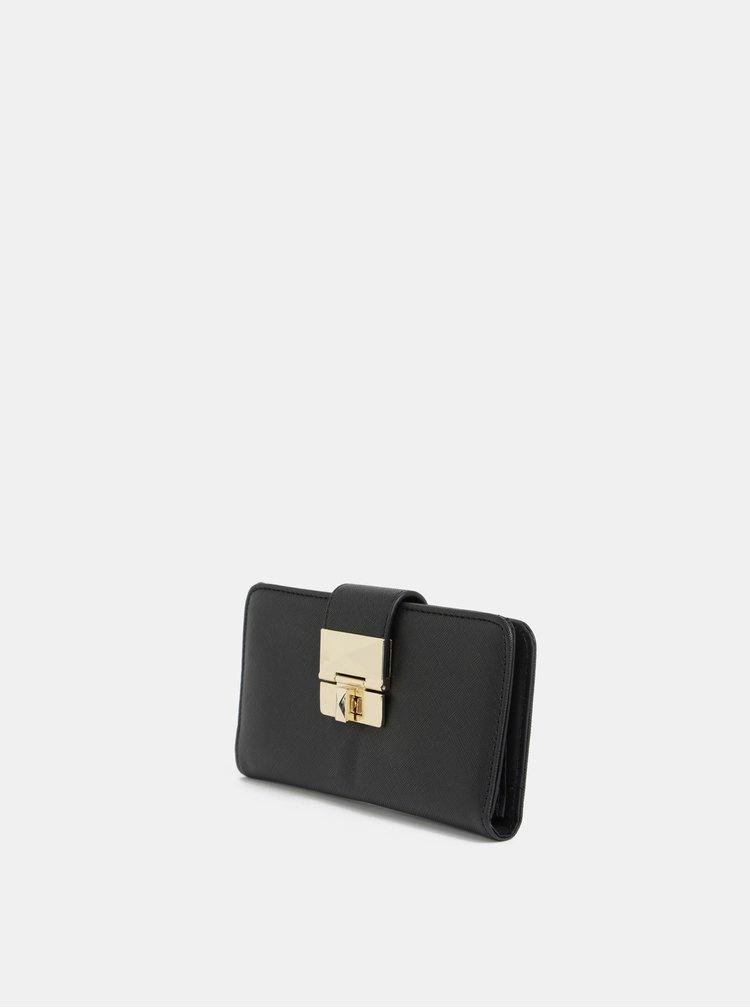 Černá velká peněženka Dorothy Perkins