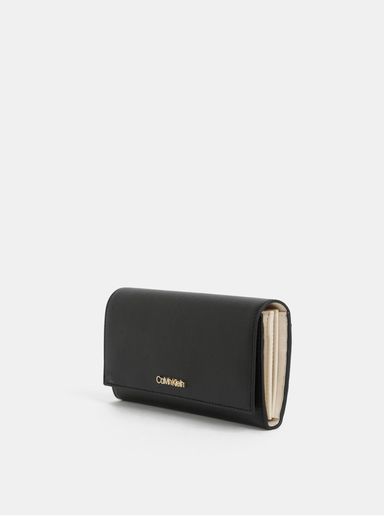 Černá dámská peněženka Calvin Klein Jeans