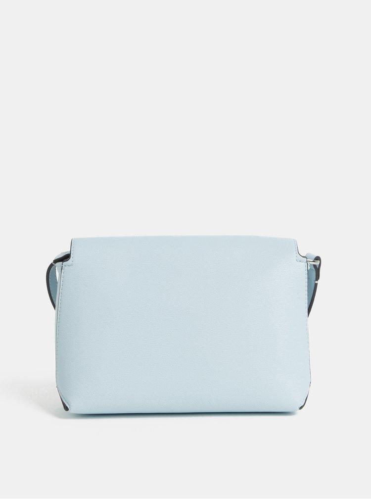 Světle modrá crossbody kabelka Calvin Klein Jeans