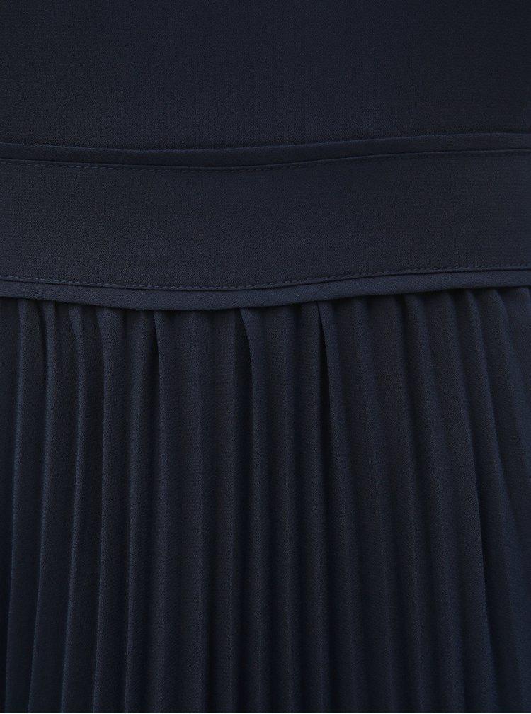 Rochie albastru inchis plisata Dorothy Perkins