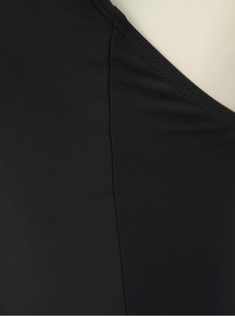 Černé jednodílné plavky Pieces Bine