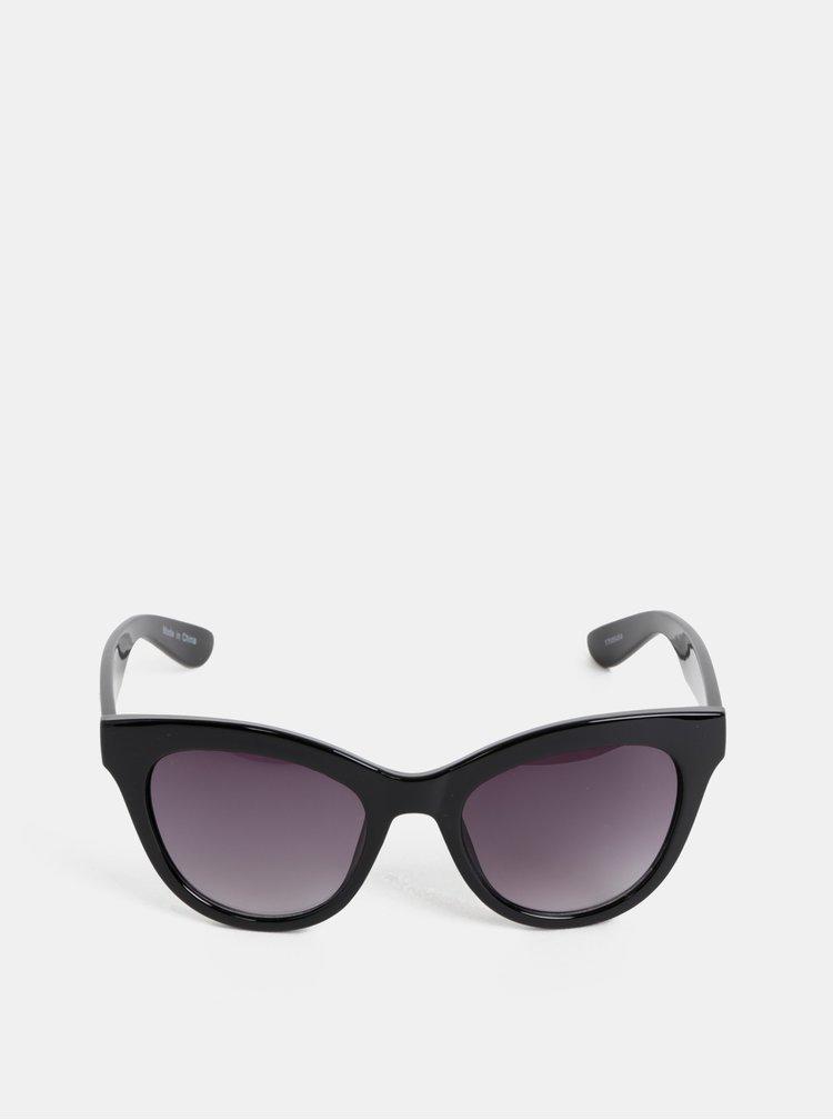 Ochelari de soare negri Pieces Sonja
