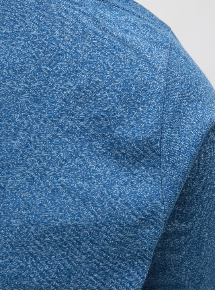 Tricou albastru melanj Lindbergh