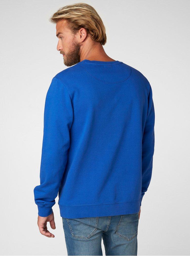Bluza sport barbateasca albastra cu imprimeu HELLY HANSEN