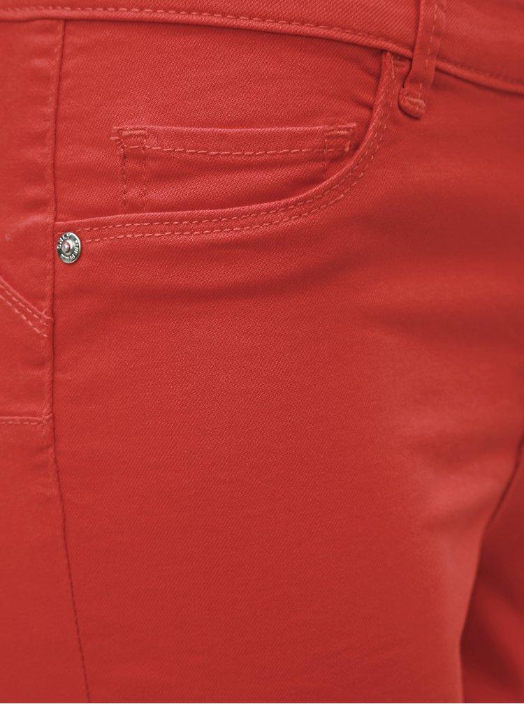 Červené džínové kraťasy ONLY Rain