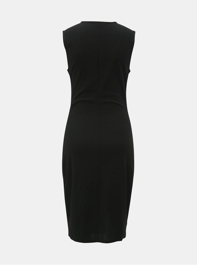 Černé pouzdrové šaty Jacqueline de Yong Vanda