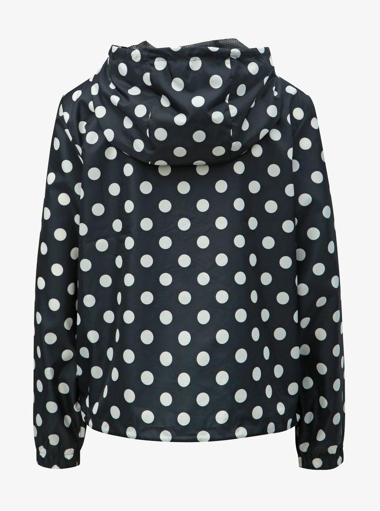 Černá puntíkovaná  lehká bunda Jacqueline de Yong Jelina