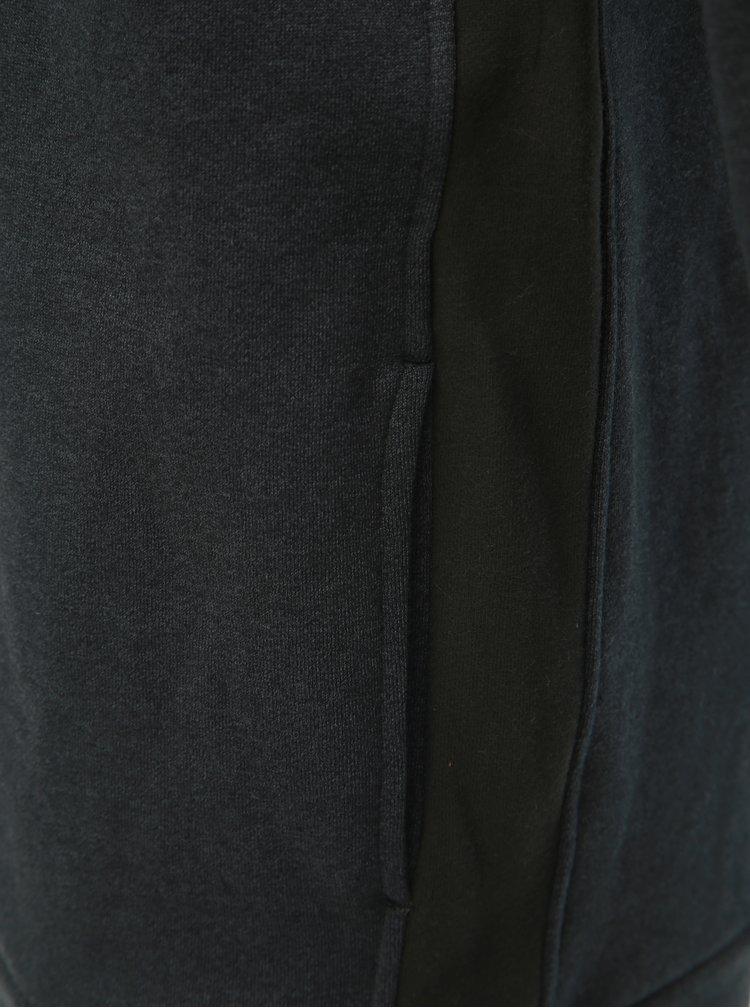 Černá pánská mikina s kapsami Ragwear Ervin