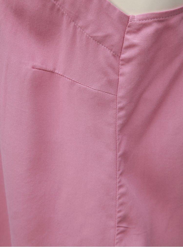 Ružový top VERO MODA Simply