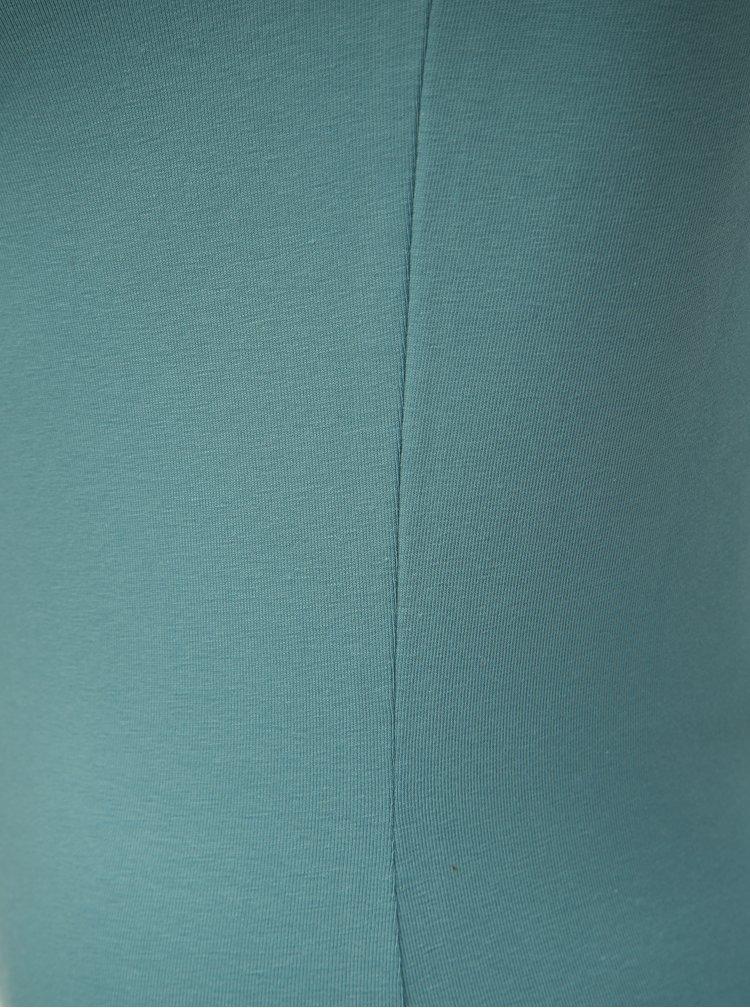 Tricou basic albastru VERO MODA Maxi