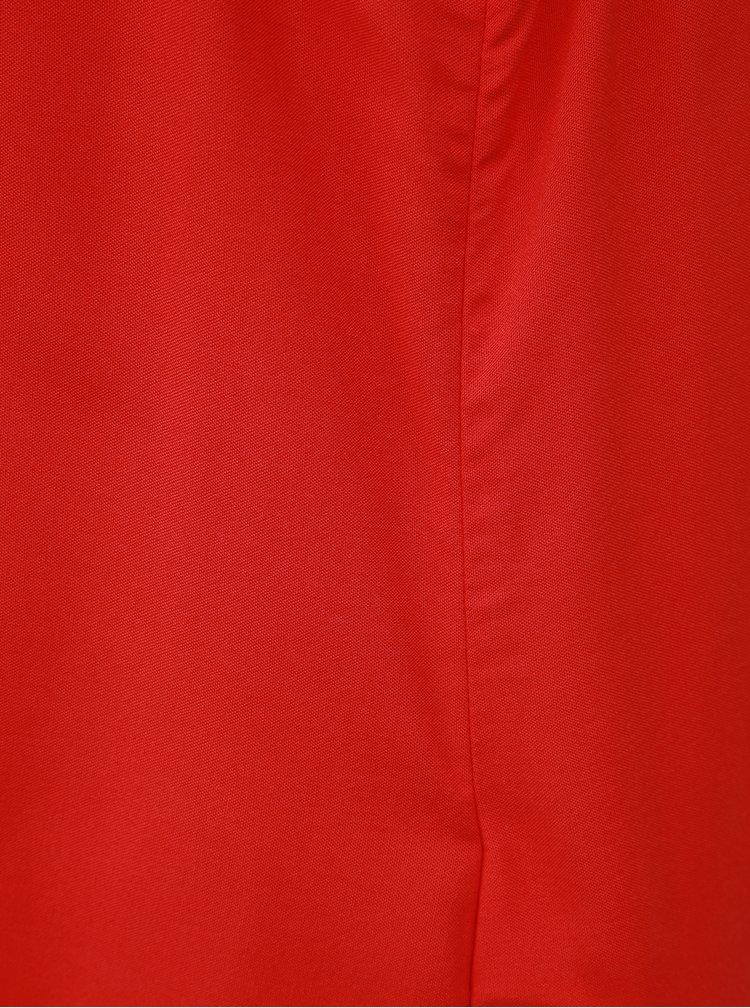 Červený top VERO MODA Meva