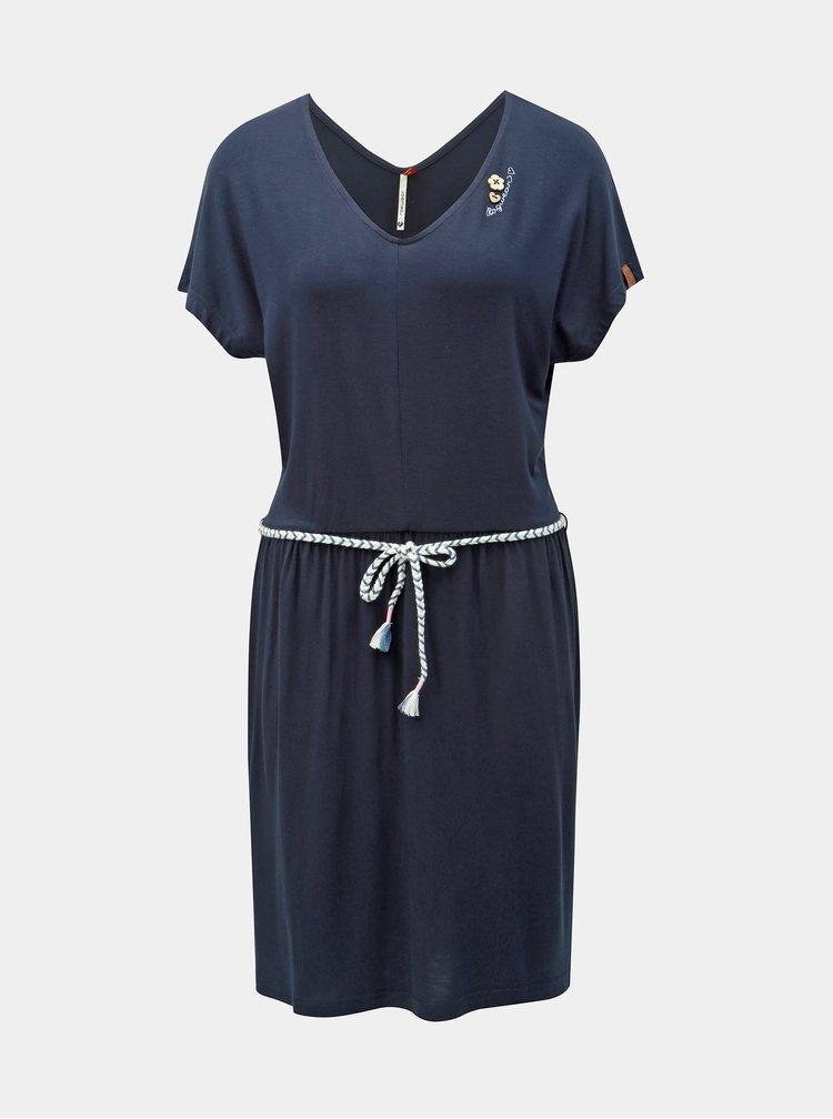 Tmavomodré šaty Ragwear Lasy