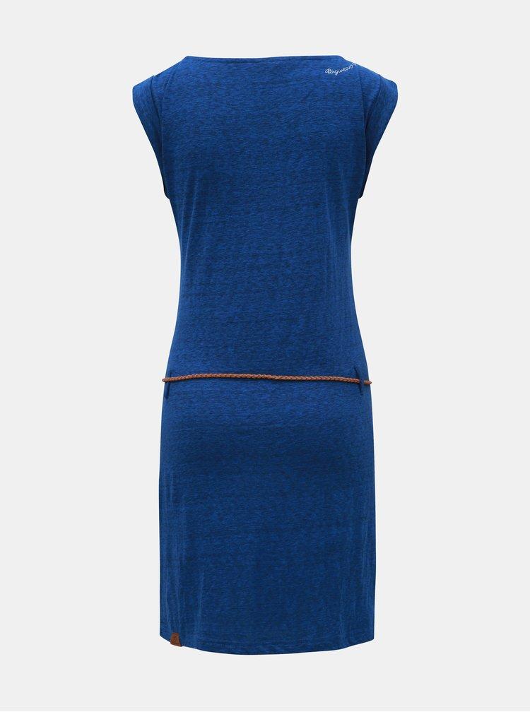 Modré žíhané šaty Ragwear Tag