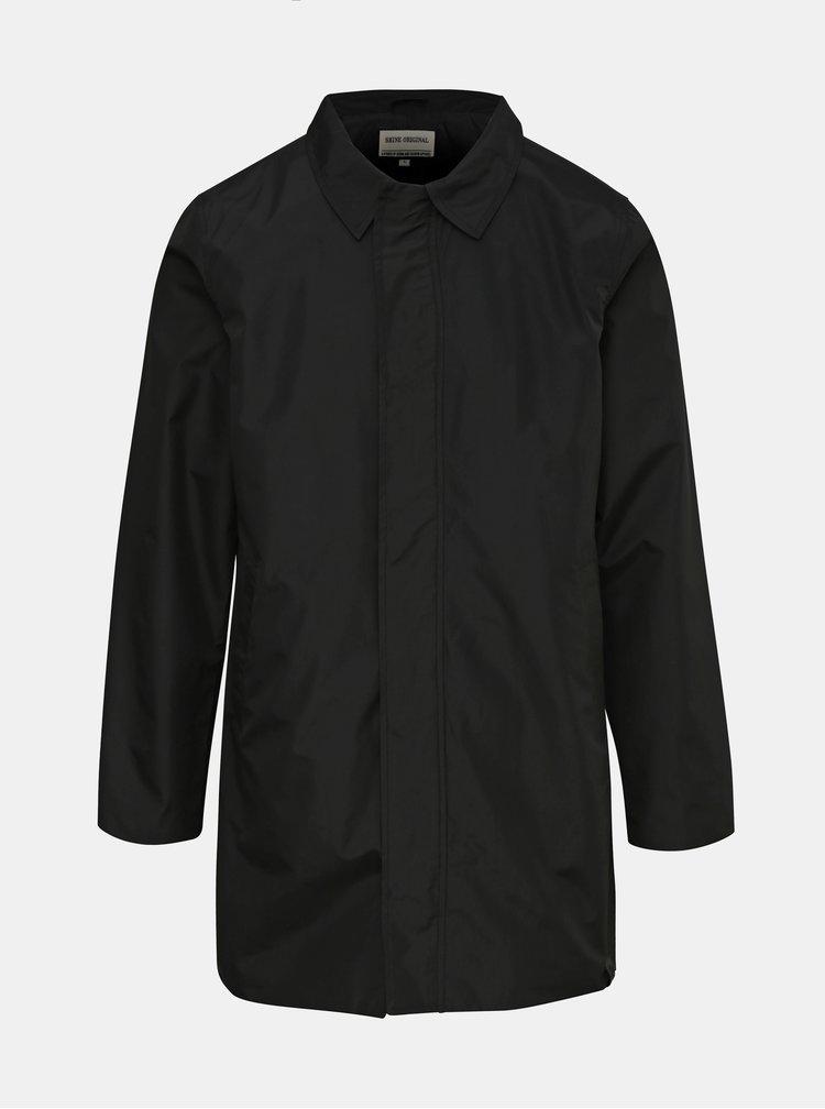Černý lehký kabát Shine Original