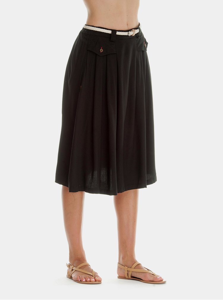 Černá sukně Ragwear Zeika