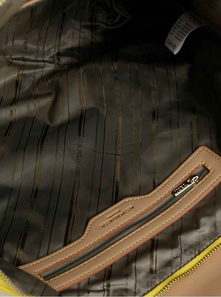 Geanta galbena U.S. Polo Assn.