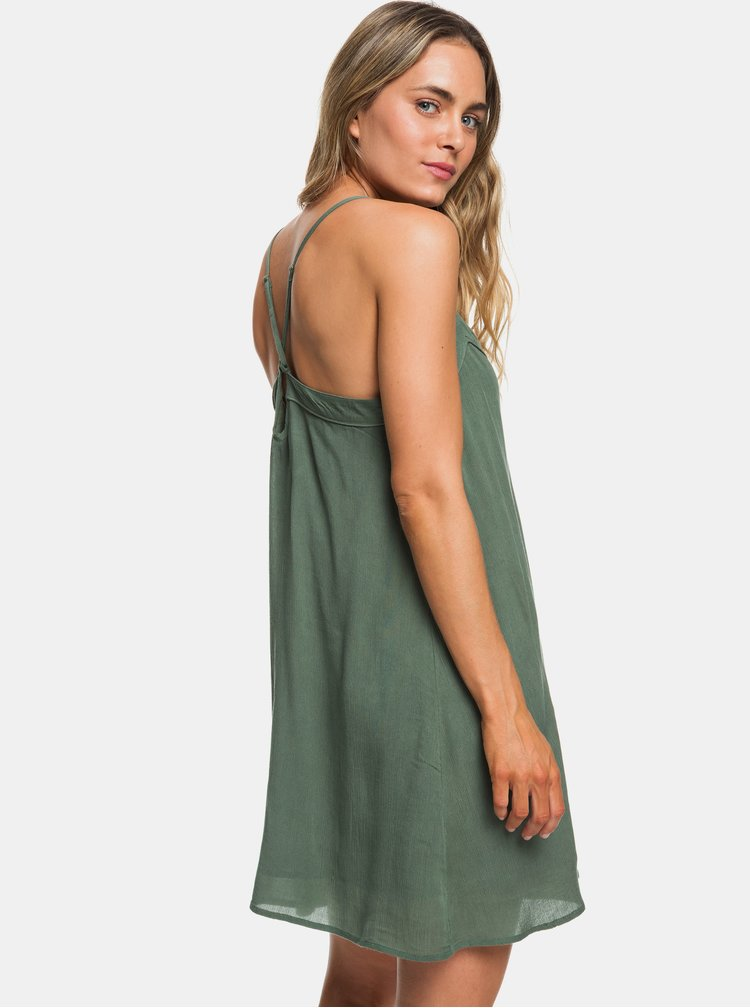 Zelené šaty Roxy Off We Go