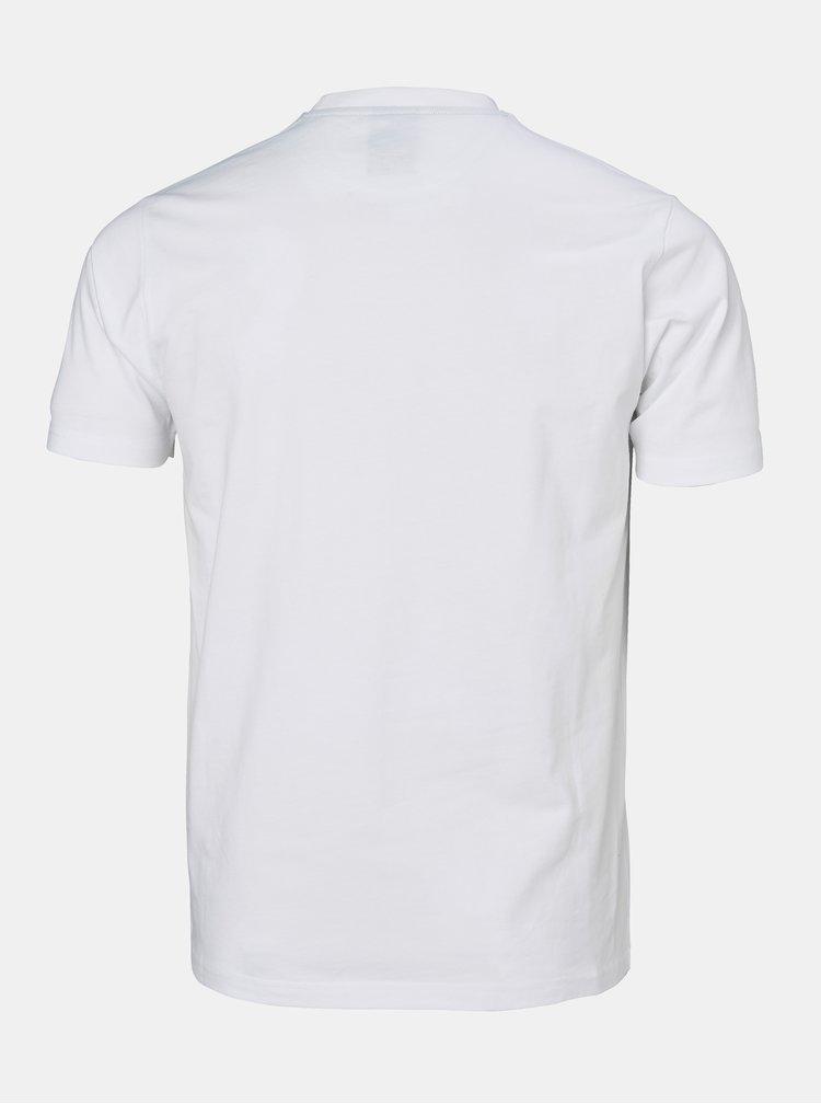 Bílé regular fit tričko s potiskem HELLY HANSEN Tokyo