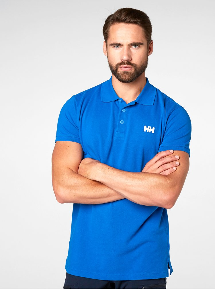 Tricou polo albastru regular fit HALLY HANSEN Transat