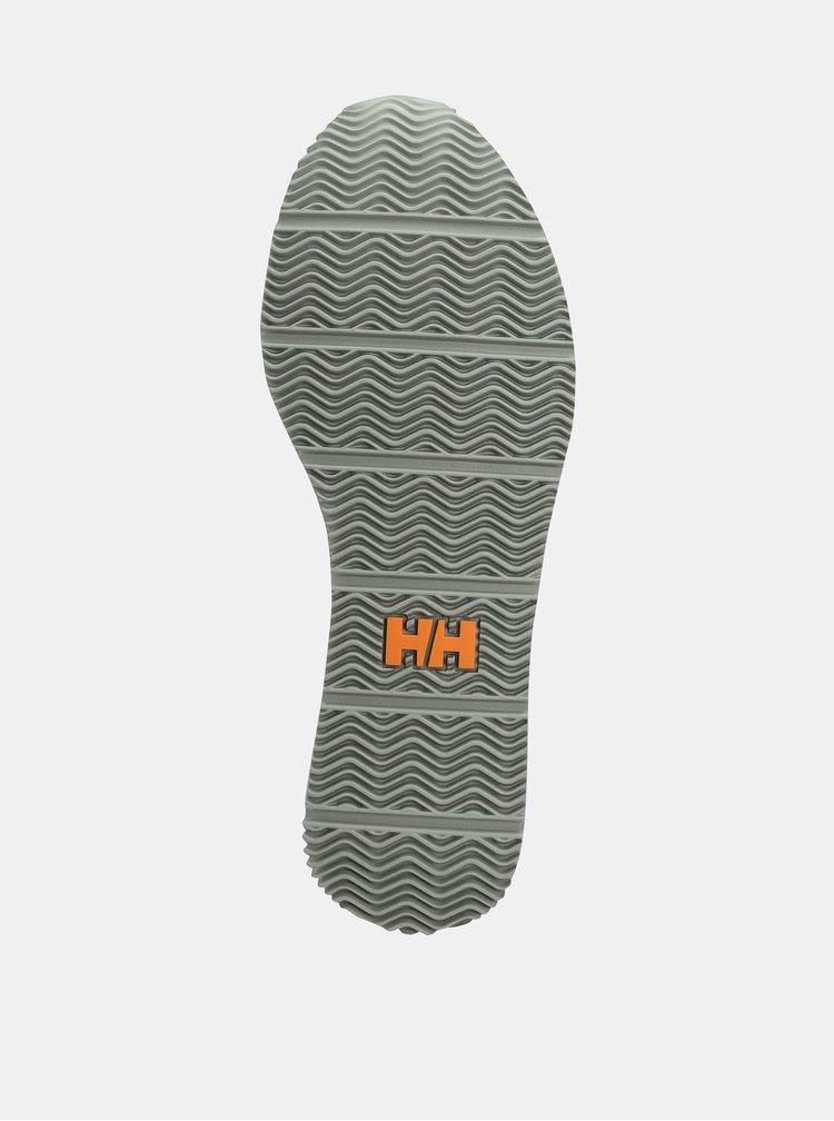 Pantofi sport verzi cu detalii din piele intoarsa HELLY HANSEN Ripples