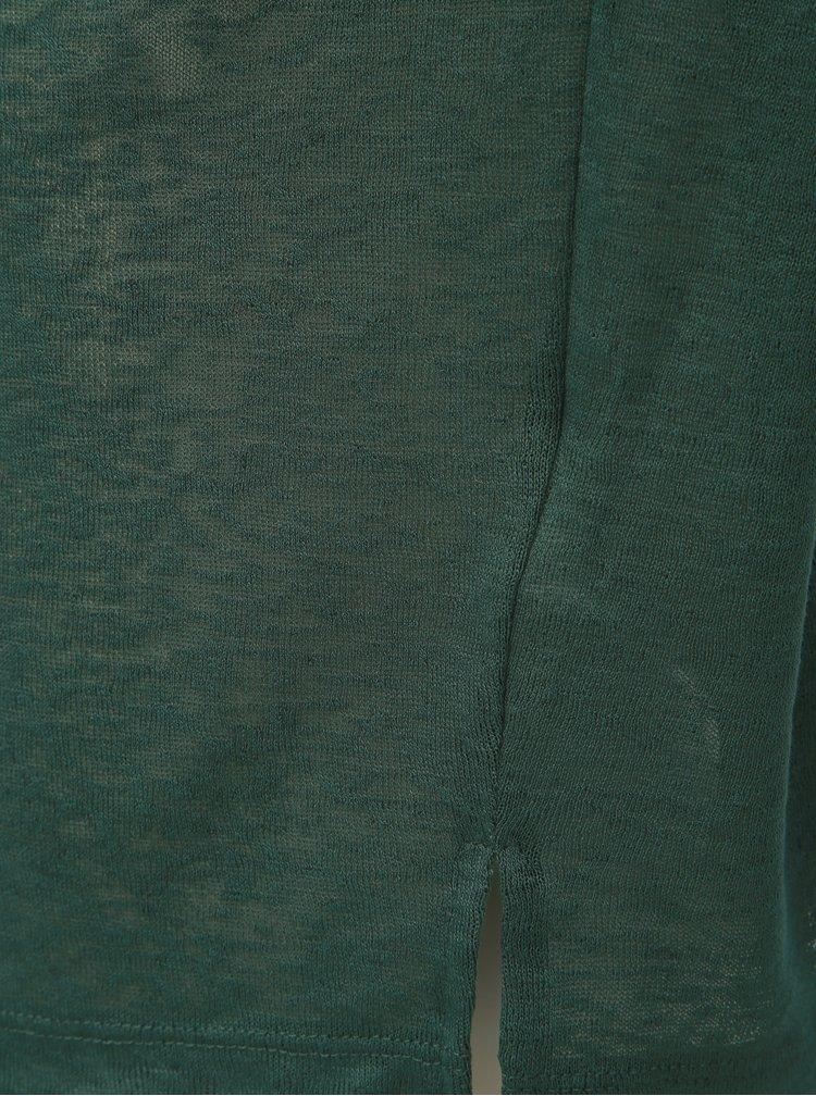 Tricou verde transparent VILA Sumi